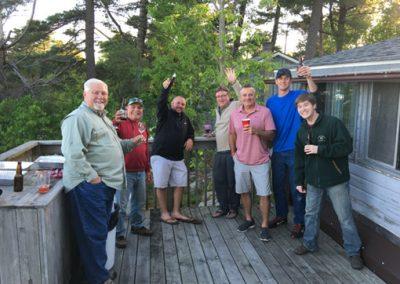 lodge party deck